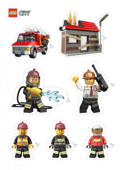 Coloriage lego city les pompiers coloriage lego city - Coloriage de lego city ...