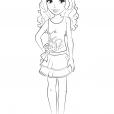 coloriage lego friends imprimer coloriages dessins animes. Black Bedroom Furniture Sets. Home Design Ideas