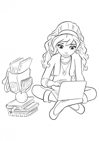 Coloriage coloriage-friends-olivia_2
