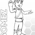 Coloriage Les Chroniques de Matt Hatter : Gomez