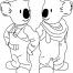 Coloriage Les Frères Koala 12