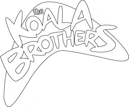 Coloriage Les Frères Koala 9