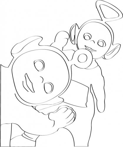 Coloriage Teletubbies 19