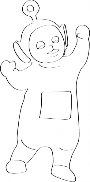 Coloriage Teletubbies 44