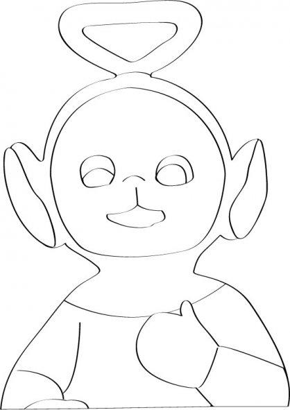 Coloriage Teletubbies 58