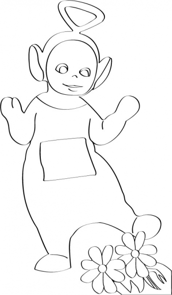 Coloriage Teletubbies 60