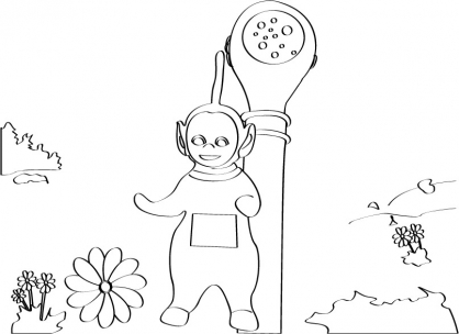 Coloriage Teletubbies 7