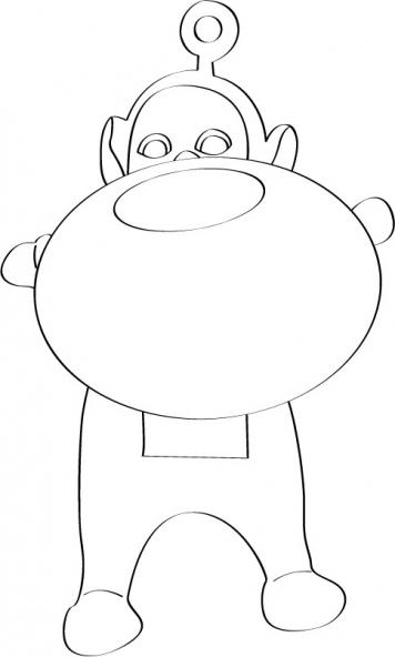 Coloriage teletubbies 86 coloriage les teletubbies coloriage dessins animes - Gulli fr coloriage ...