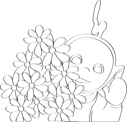 Coloriage Teletubbies 87