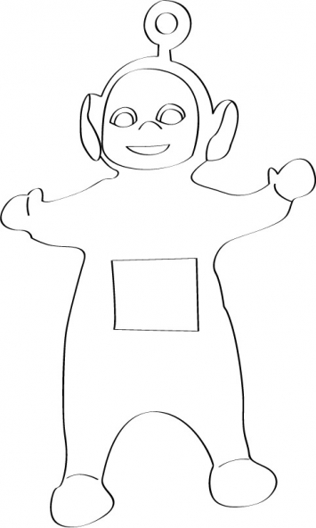 Coloriage Teletubbies 9