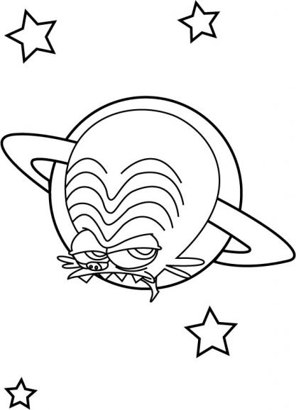 Coloriage Les Zinzins de l'espace 19