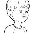 Coloriage Linus et Boom 4