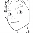 Coloriage Linus et Boom 9