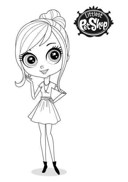 Lps coloring sheet blythe office girls wallpaper - Coloriage lps ...