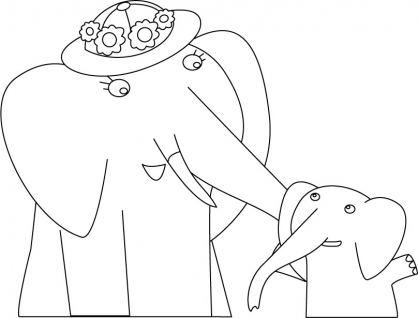 Coloriage Mama Mirabelle 26