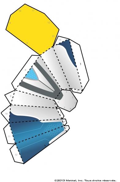 Coloriage Max Steel : La Maquette Steel planche 2