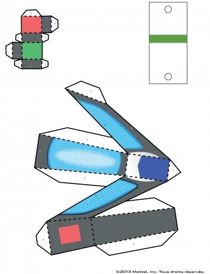 Coloriage Max Steel : La Maquette Steel planche 4