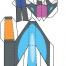 Coloriage Max Steel : La Maquette Steel planche 5