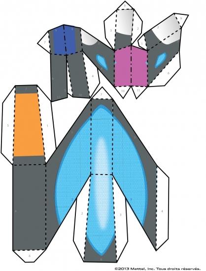 Coloriage Max Steel : La Maquette Steel planche 6