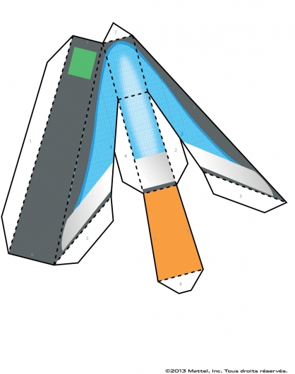 Coloriage Max Steel : La Maquette Steel planche 8