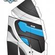 Coloriage Max Steel : Le Masque de Max Steel planche 1