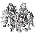 Coloriage Les héroïnes de Monster High