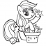 Coloriage My Little Pony 1