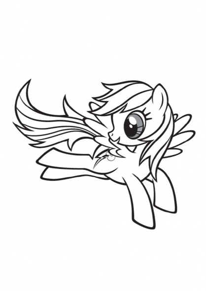 Coloriage my little pony 12 coloriage my little pony - My little pony en dessin anime ...