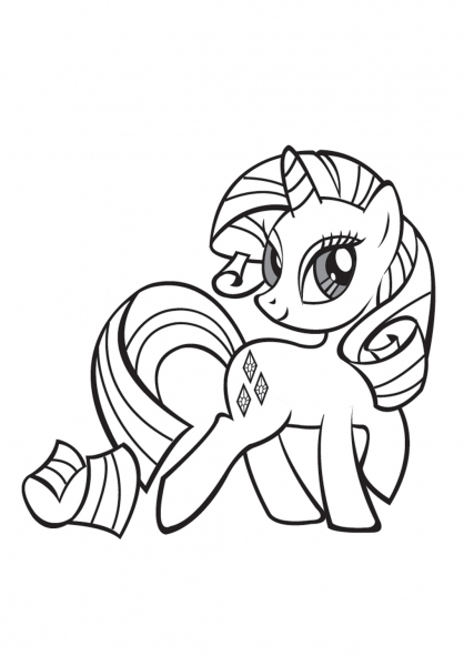 Coloriage My Little Pony 13
