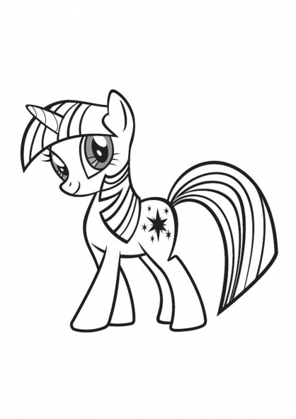 Coloriage My Little Pony 16 Coloriage My Little Pony Coloriage ...