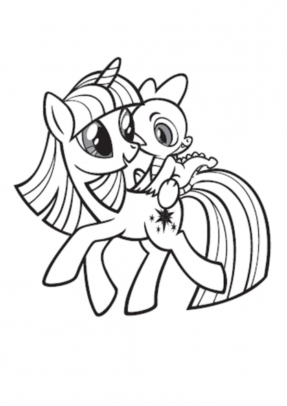 Coloriage My Little Pony 18