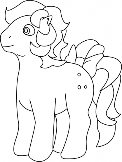 Coloriage My Little Pony 21