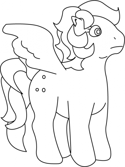 Coloriage My Little Pony 22