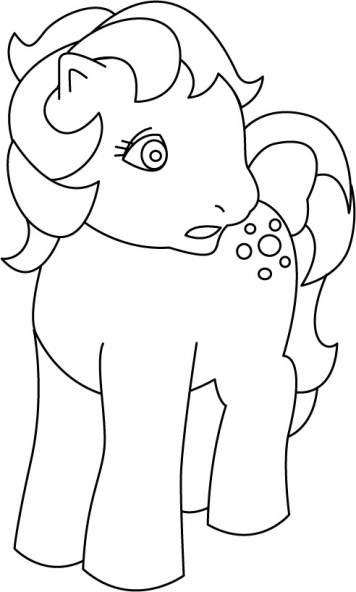 Coloriage My Little Pony 23