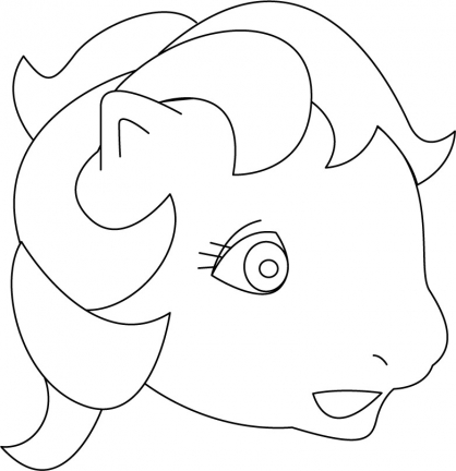 Coloriage My Little Pony 24