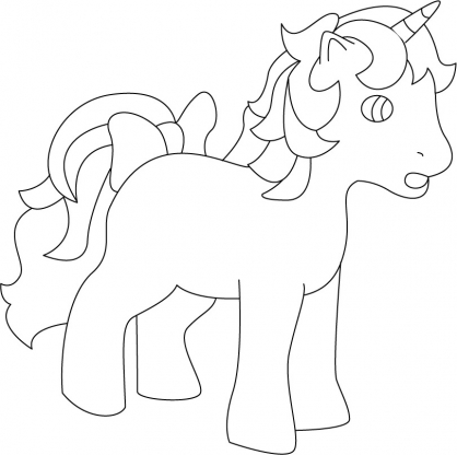 Coloriage my little pony 25 coloriage my little pony - My little pony en dessin anime ...