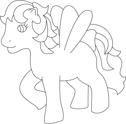 Coloriage My Little Pony 26