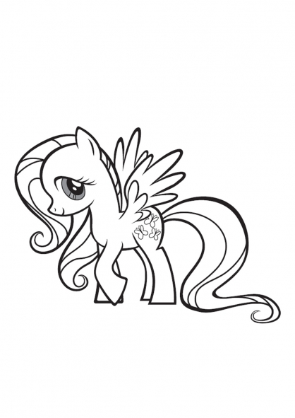 Coloriage my little pony 5 coloriage my little pony - Coloriage gratuit my little pony ...