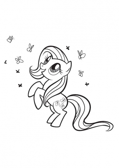 Coloriage My Little Pony 6