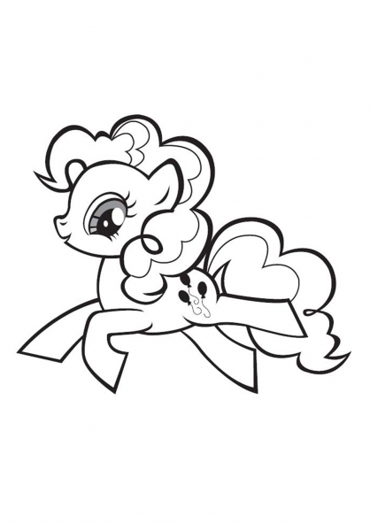 Coloriage my little pony 7 coloriage my little pony coloriage dessins animes - Pony dessin anime ...
