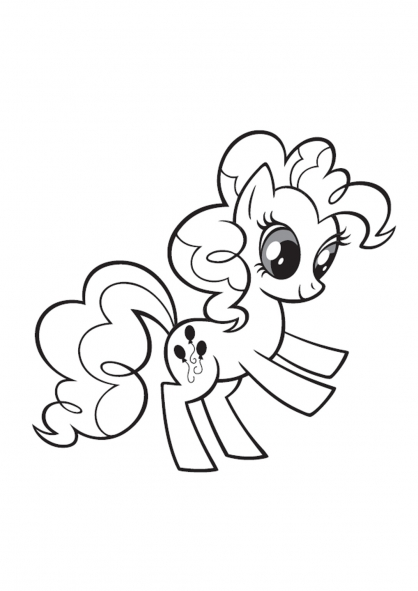 Coloriage My Little Pony 8