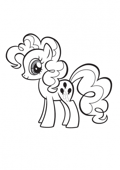 Coloriage My Little Pony 9