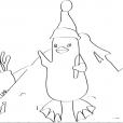 Coloriage Ozie Boo 3