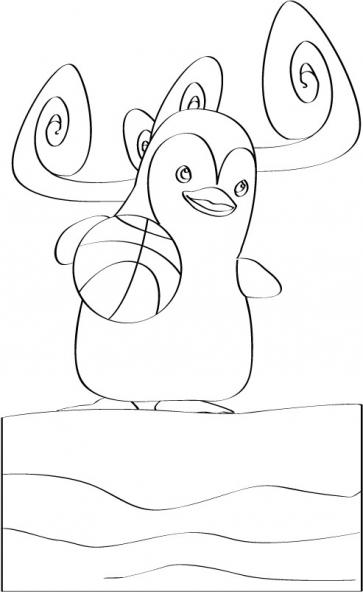 Coloriage Ozie Boo 36