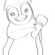 Coloriage Ozie Boo 4