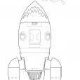 Coloriage P'tit cosmonaute 6