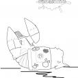 Coloriage P'tit cosmonaute 7