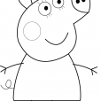 Coloriage Peppa 10