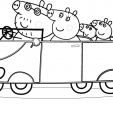 Coloriage Peppa 12