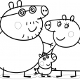 Coloriage Peppa 13
